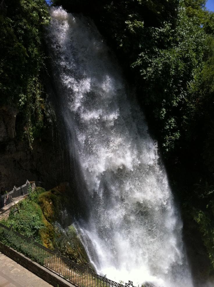 Edessa, Greece - Edessa waterfalls