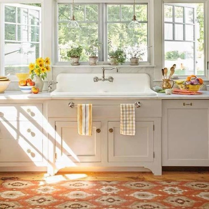 An inspiration via  @boomersmarts Love the rug @thisoldhouse