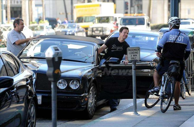 Ted actor Mark Wahlberg owns a Bentley Azure.