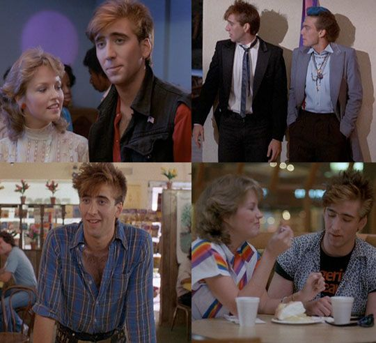 Nicolas Cage was seriously a babe in the movie Valley Girl.