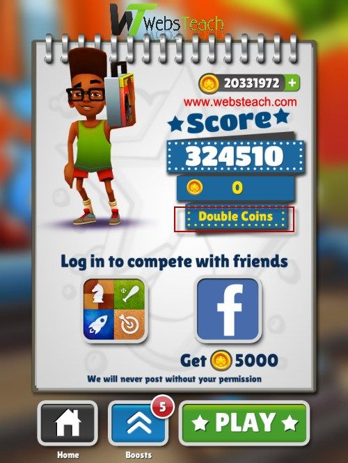Get Free Subway Surfers Unlimited Coins and Keys Free of Cost