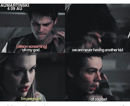 funny, teen wolf, and stydia afbeelding