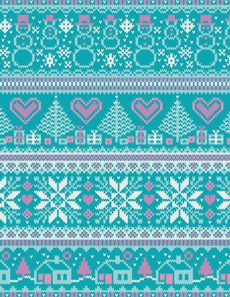 (Knit) Fairisle pattern, how delicate!