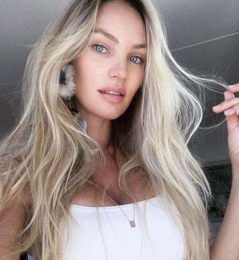 Avant/après : les Anges de Victoria's Secret sans maquillage (elles sont sublimes) - Elle en 2020 | Produits capillaires, Cheveux blond, Beau