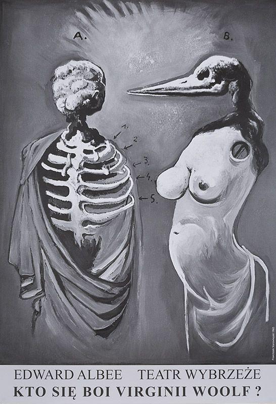 Franciszek Starowieyski, Kto sie boi Virginii Woolf?, 2015, Size: B1