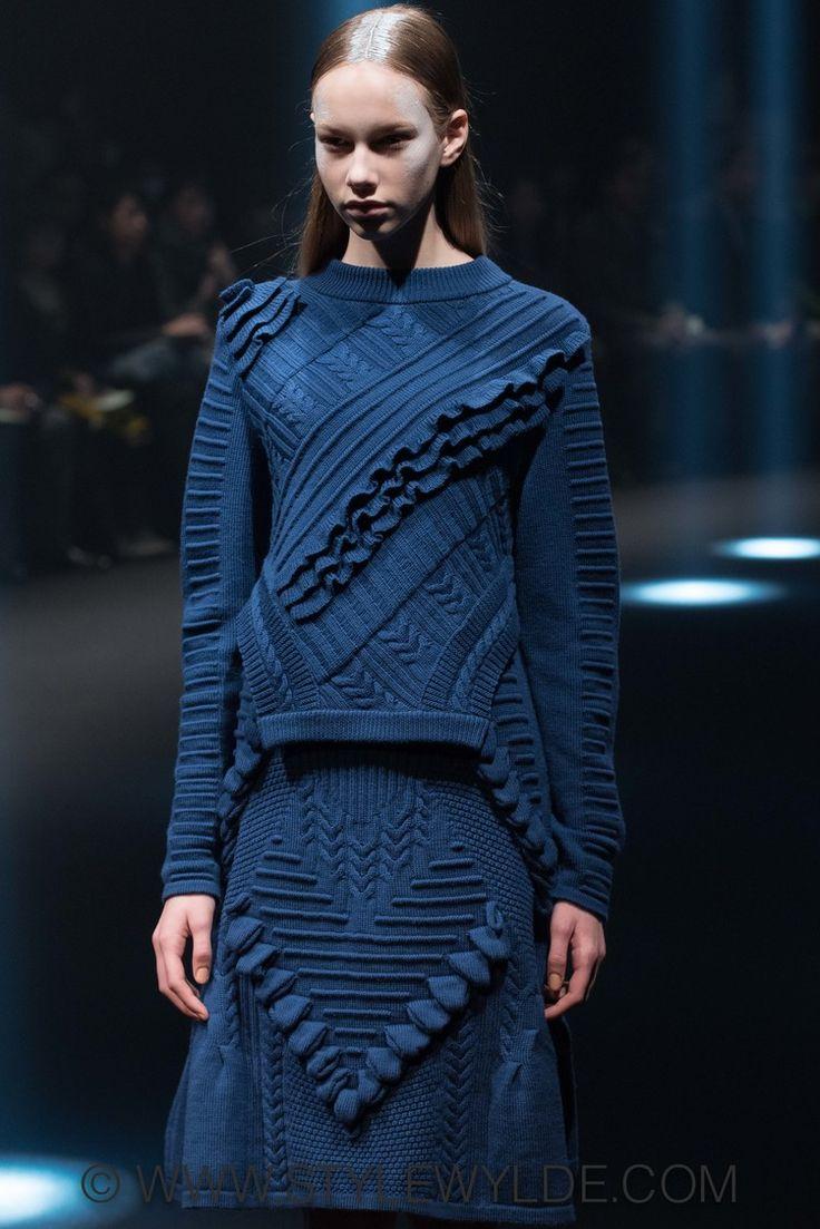 + #wool #sweater #skirt More