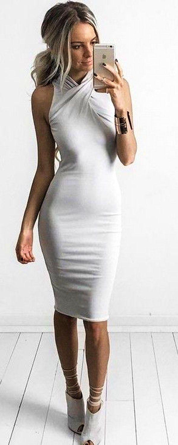 #summer #feminine #fashion #outfitideas | Little Grey Dress