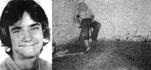 """sociopathic-compulsions: """" Shown above is a picture of prostitute Jerry Howell, victim of serial killer Robert Berdella, who killed 6 men between 1984-1987 in Kansas City, Missouri. Howell, who was a friend of Berdella's, was drugged, kept in his..."""