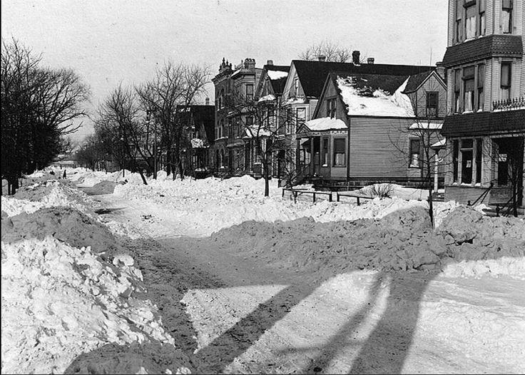 Gran tormenta de nieve, Chicago, 5-6 enero 1918. Tribune.