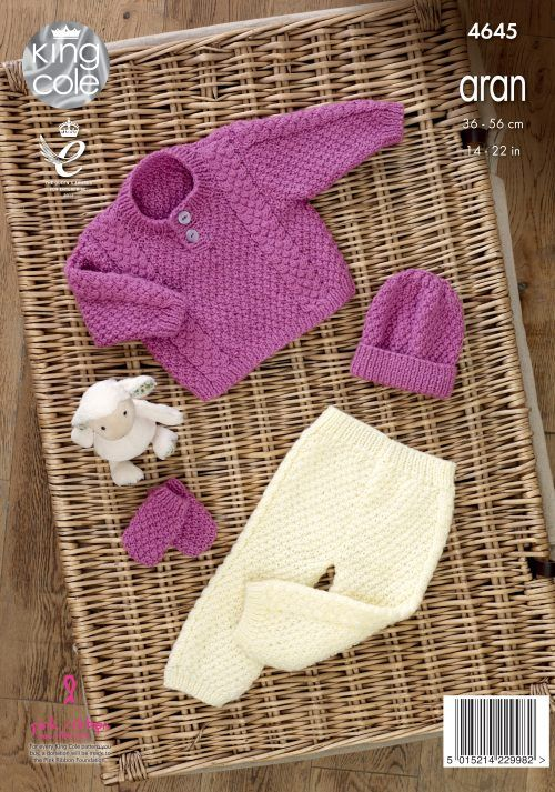 Sweater, Trousers, Hat & Mittens - King Cole