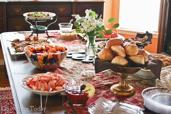 A Bridal Shower Menu Collection - Great recipes that could be used for many different types of parties.