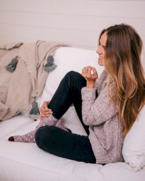 Comfy and fashionable winter outfits ideas 30
