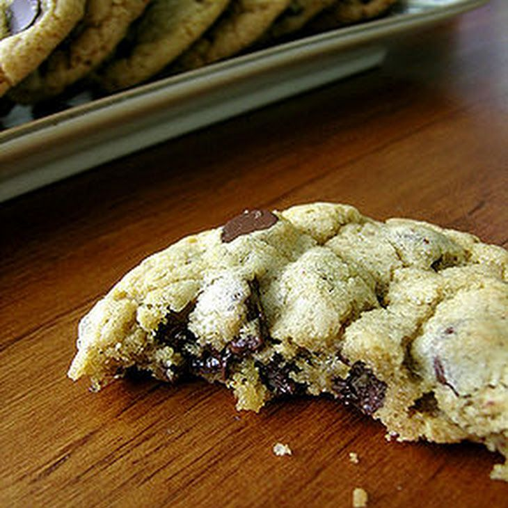 Subway Chocolate Chip Cookies Recipe Desserts with margarine, large eggs, vanilla extract, white sugar, semi-sweet chocolate morsels, light brown sugar, self rising flour