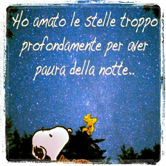 Snoopy and stars