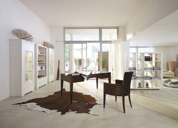 Home Office ELEGANZA designed by Tiziano Bistaffa #SELVA #furniture #office #desk