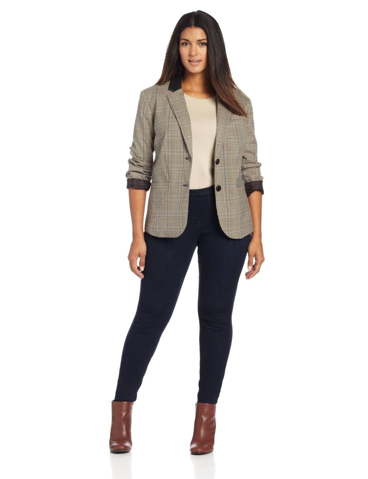 Business Casual plus size