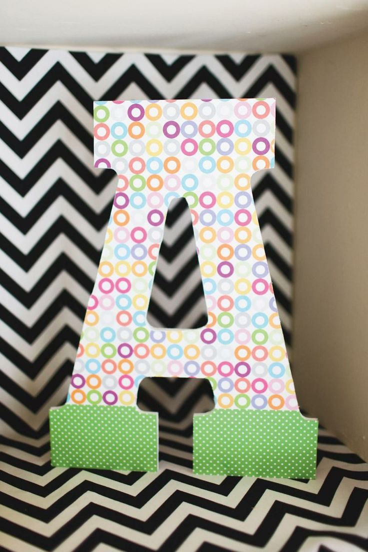 decorating your kids room is as easy as abc with cute wooden letters from art minds