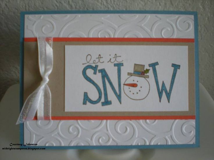 Card Making Ideas Christmas Stampin Up Part - 25: Big On Christmas - Stampin Up. Christmas CardsHoliday CardsChristmas IdeasPaper  ...