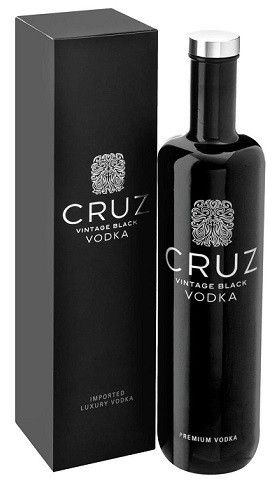 Cruz Vintage Black Premium Vodka (750ml, 40.0%)