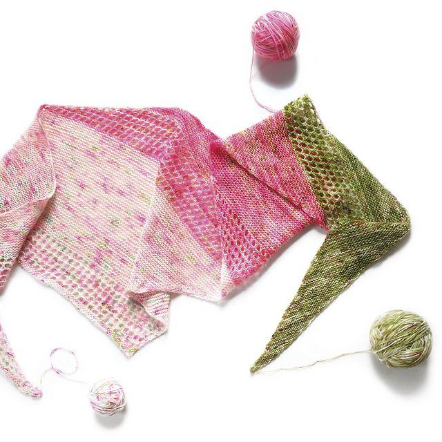 Ravelry: Magic Spring Shawl pattern by Katerina Bobkova