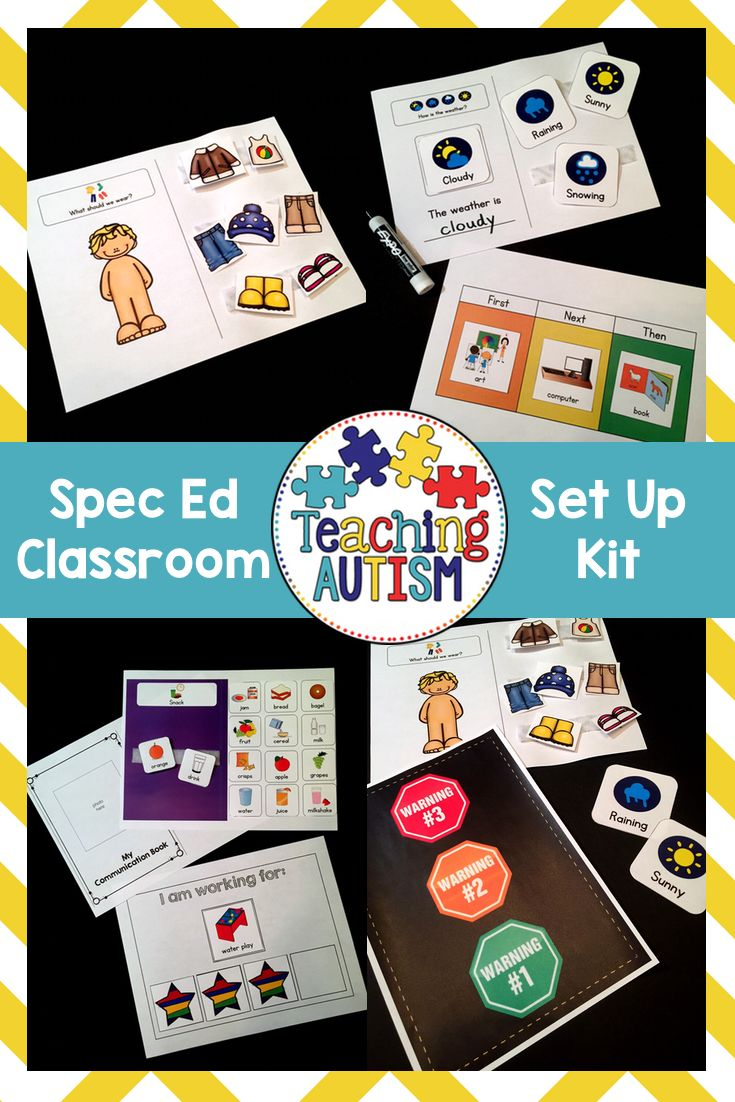 This is a bundle of autism / spec ed resources from my TpT store that will be great to help you set up your new autism / special education classroom or just to update it and introduce some new strategies. Each resource comes with instructions so you are able to implement them and use them in the best possible way in your classroom! We use these within our classroom every year and they work wonders with our students, so I am able to personally recommend you these resources and know that you…