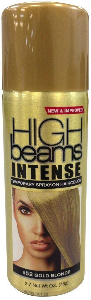 High Beams Intense Temporary Spray-On Hair Color - Gold Blonde 2.7 oz (3 PACK) -- Check out this great article. #hairupdoideas