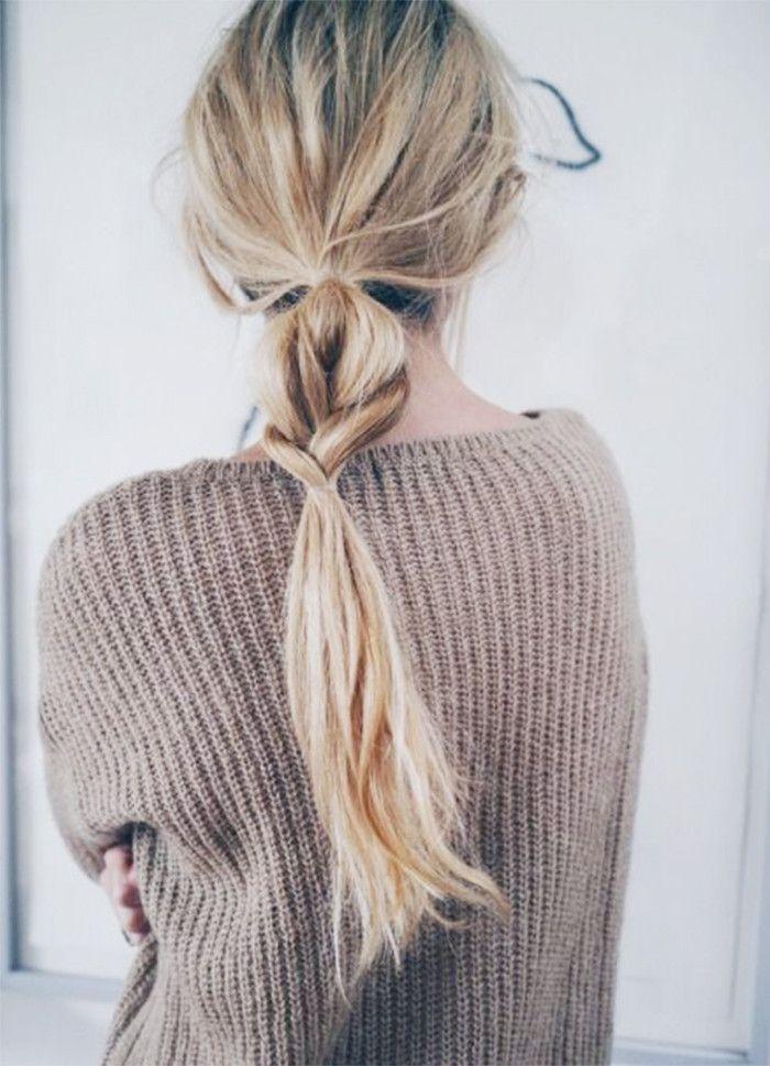 9 5-Minute Hairstyles for Long Hair via @ByrdieBeautyUK