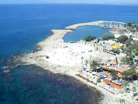 Parasailing in Antalya, Turkey