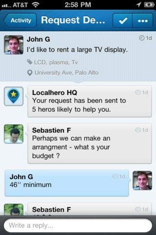 App Store - LocalHero