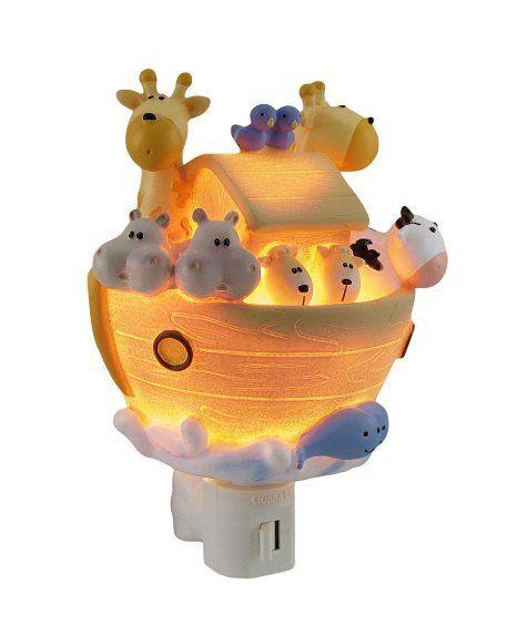 Children 39 S Noah 39 S Arc Night Light Room Decor Baby Noah 39 S Ark Themed Baby Shower