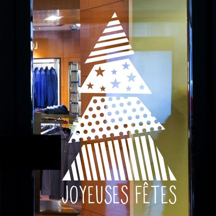 Les 12 meilleures images du tableau d coration de vitrines - Joyeuses fetes magasin ...