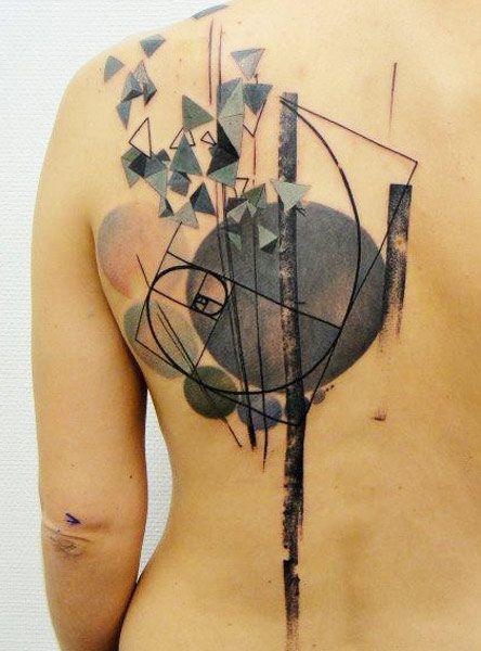 Abstract Tattoo by Xoil Tattoo | Tattoo No. 10643