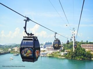 [싱가폴] 싱가폴 ★싱가폴 케이블카★ (마운트 페이버-센토사섬 왕복)