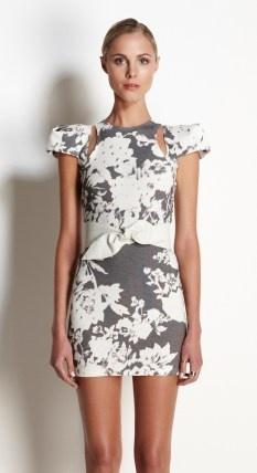 Talulah metallic life dress $169 | threads and style