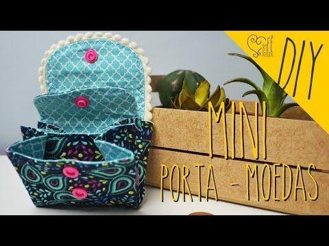 DIY ::: Carteira Porta-Celular - YouTube