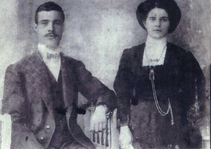 Michalis and Marigitsa Tsagkareli of Ayvali.