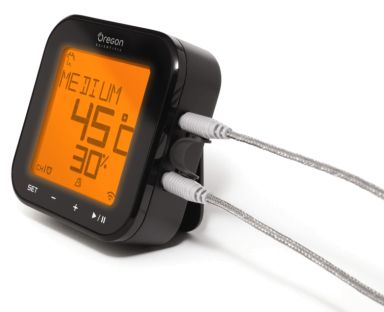Giveaway: Oregon Scientific Grill-Right Bluetooth® BBQ Thermometer ~ http://steamykitchen.com