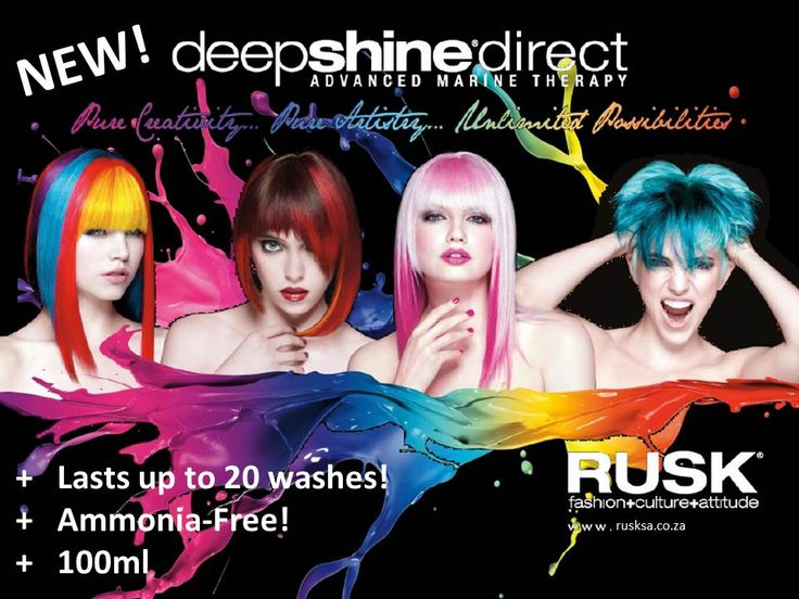 New!!! RUSK Deepshine Direct  http://www.youtube.com/watch?v=E_drArFyihY