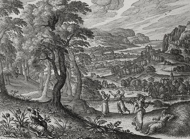 Apocrypha 9. Esdras and the angel. 2 Esdras cap 9 v 24. Borcht. Phillip Medhurst Collection on Flickr.Apocrypha 9. Esdras and the angel. 2 Esdras cap 9 v 24. Borcht. Phillip Medhurst Collection