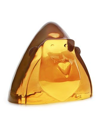 Lucite+Gorilla+Statue+by+Jonathan+Adler+at+Horchow.