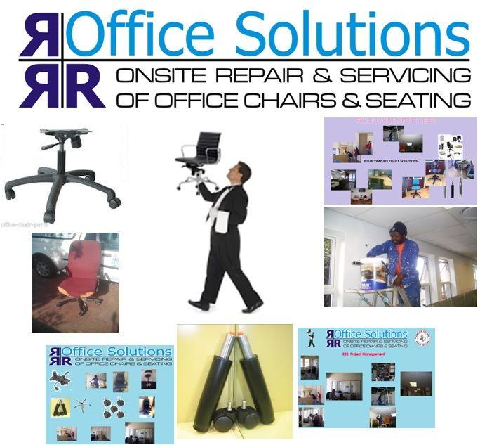 Onsite office chair repairs
