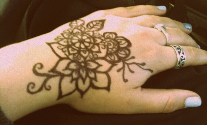 Sharpie Hand Tattoo Looks Like Henna  ART  Pinterest  Henna Hand Tattoos