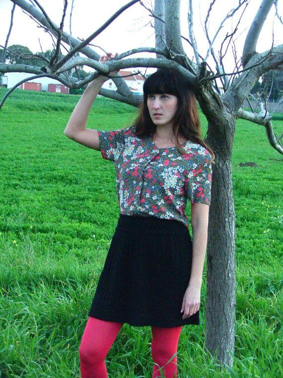 Vintage shirt .70's shirt.Vintage shirt.Women by shpirulina