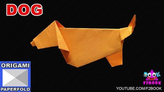 Jumping Dog Paper Folding - How to fold an Origami Dog Tutorial - How to Make Paper Videos F2BOOK Origami Makeing Instructions.  Video - 52 F2book channel For Origami For Kids Learning Paper Art ,Instructions,Paper Crafts,Paper Cutting Designs, For More @ SubScribe :  https://goo.gl/3RDUpf WebBlog :  http://f2-book.blogspot.in/ LIKE FB : https://goo.gl/z6vjRH