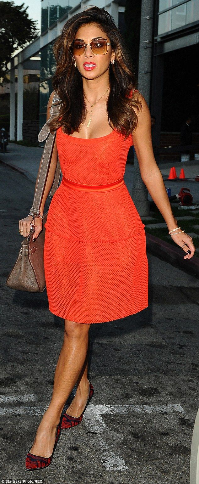 Look at those legs! Nicole Scherzinger showed off her endless pins when she stepped out to...