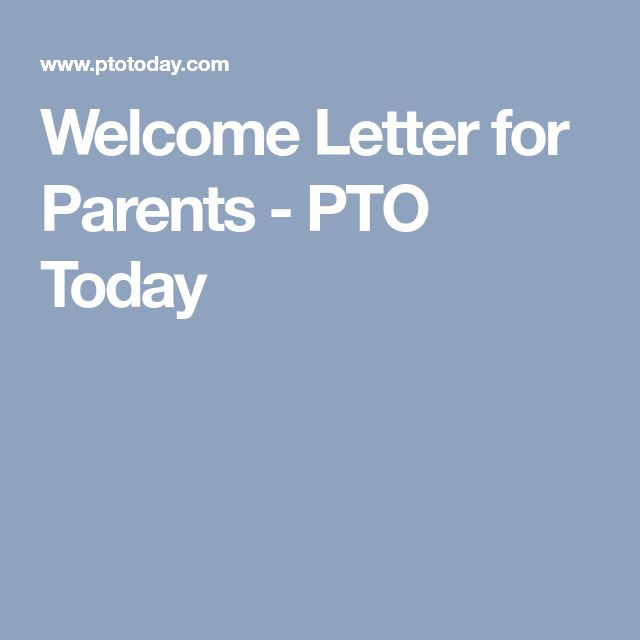 The 25 best parent welcome letters ideas on pinterest preschool welcome letter for parents pto today spiritdancerdesigns Choice Image