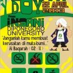 FSLDK » Forum Silaturahmi Lembaga Dakwah Kampus » Earth Day, Save Our Earth…! Insani UNDIP