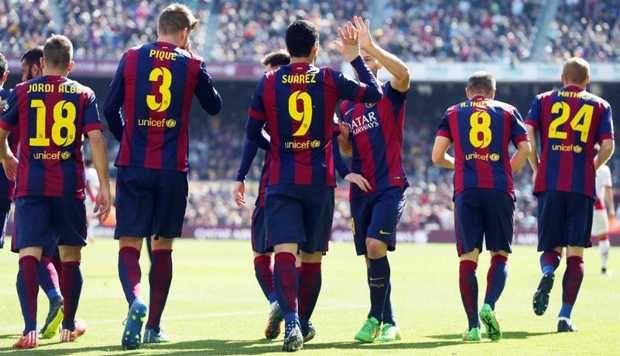 Pesta Setengah Lusin Gol, Barca Kudeta Madrid http://sin.do/9vZl  http://soccer.sindonews.com/read/973733/55/pesta-setengah-lusin-gol-barca-kudeta-madrid-1425819723