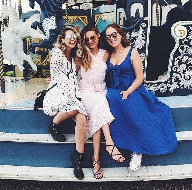 Zoe Sugg, Niomi Smart And Tanya Burr