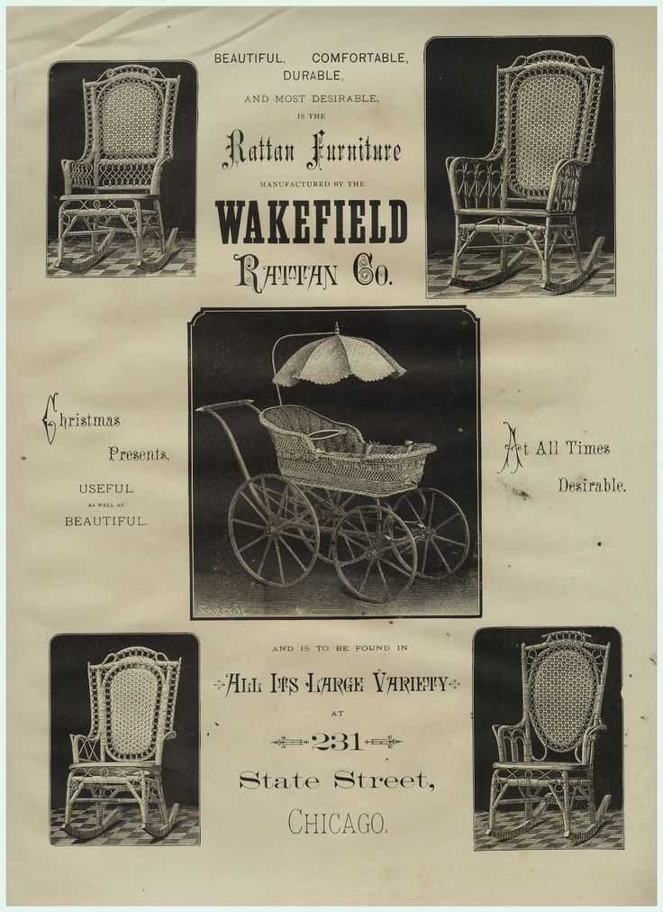 super rare lg advertising rattan heywood wakefield wicker furniture